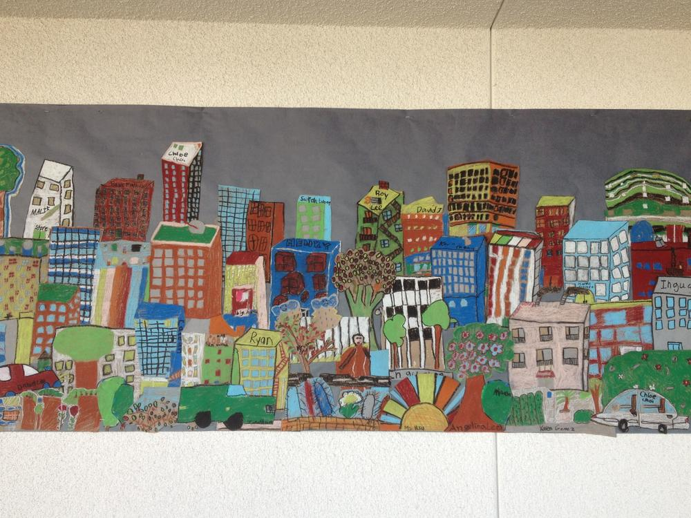 Our Community Mural from Ms. Hsu s Class