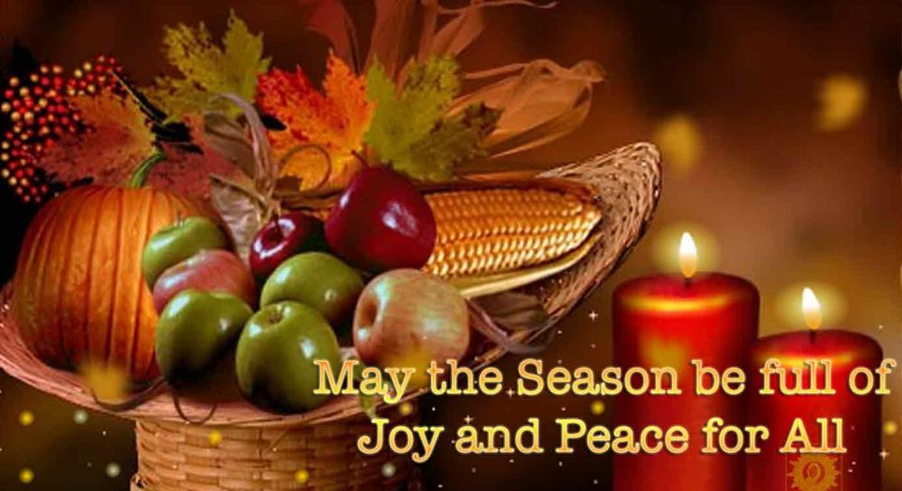 May the Season be full of Joy and Peace for All