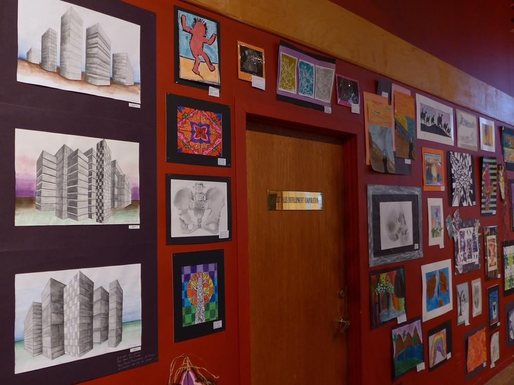 LYM Paterson Museum 2 Point Perspective Drawings