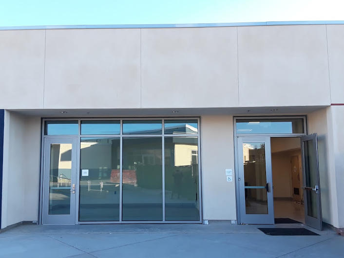 Rear Entrance and Student Leadership Conference Room