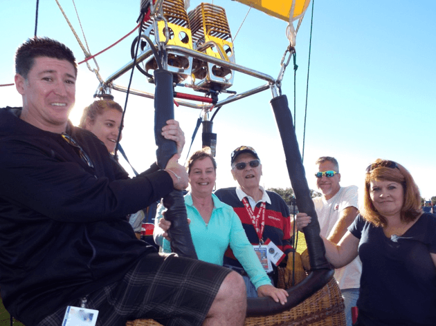 Thank you Mr. Rice, your crew and Albuquerque Aloft for launching your balloons  at Bel-Air!