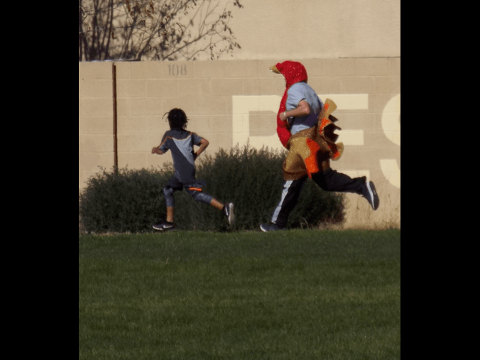 Turkey loses to an amazing Bel-Air runner!