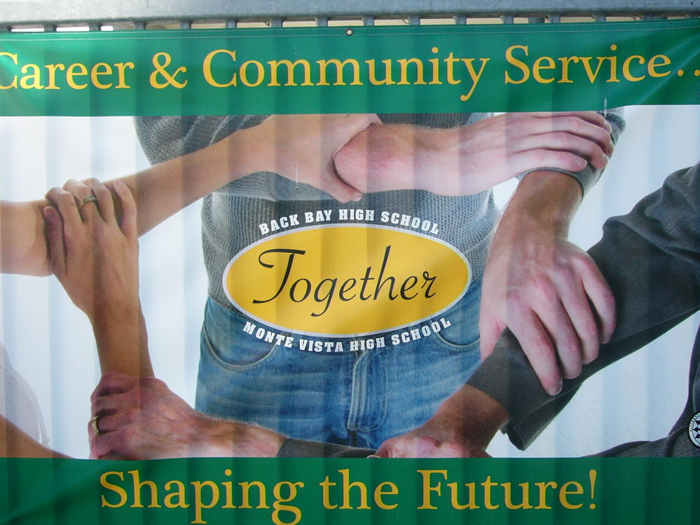 Career and community service banner