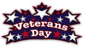 Veterans Day logo with stairs