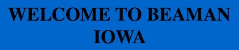 Beaman Iowa logo