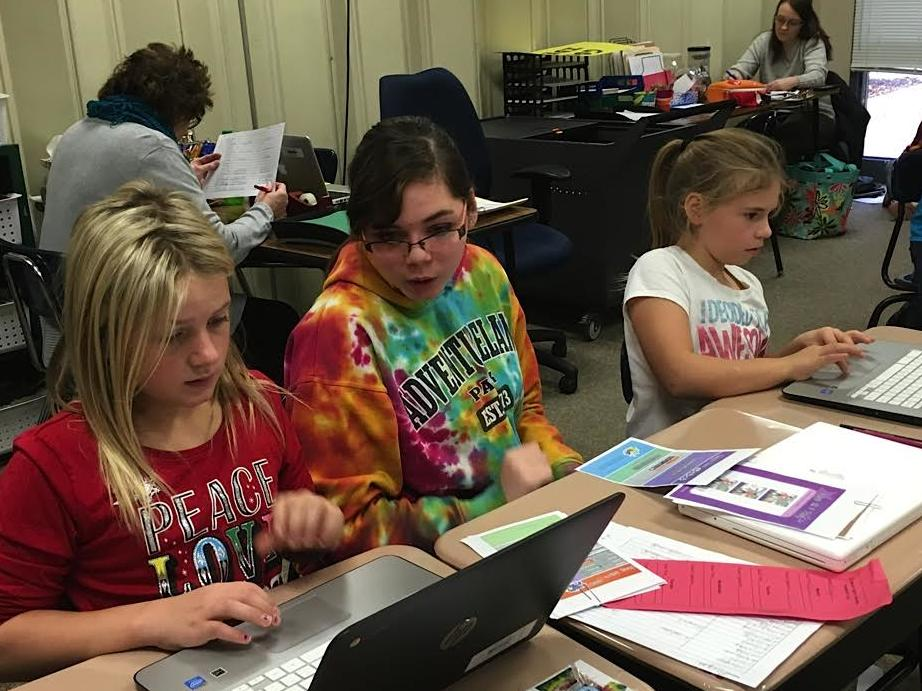 BCLUW Middle School coding