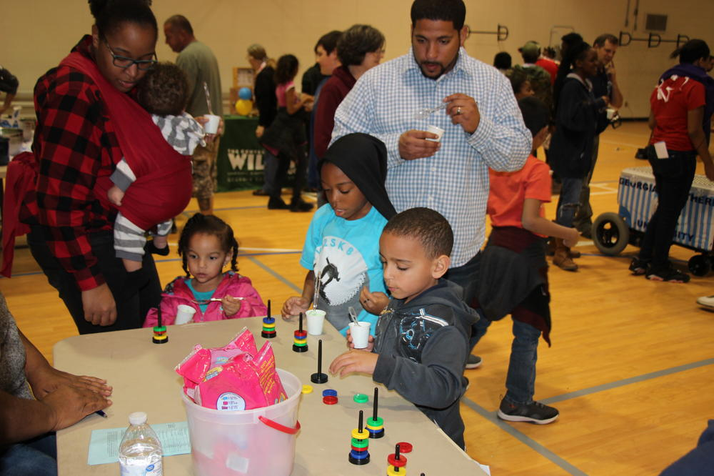 Scenes from Langston Chapel Middle School STEM Night