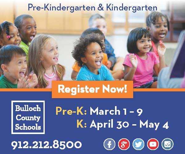 Pre-Kindergarten Registration Advertisement