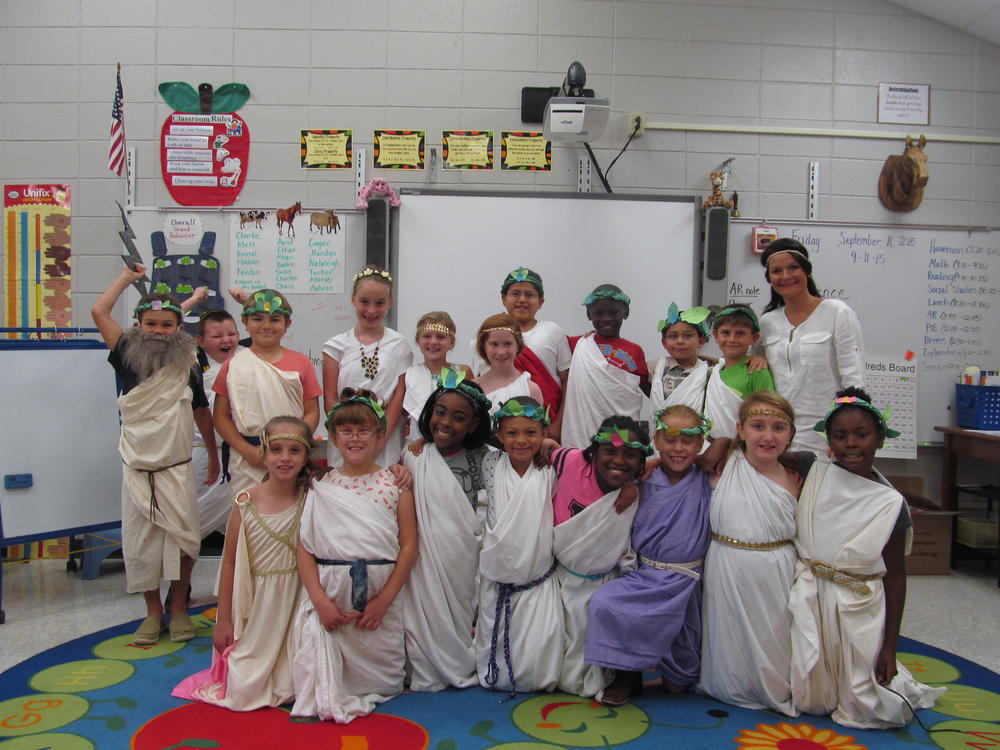 Portal Elementary Brings Greek Literature to Life