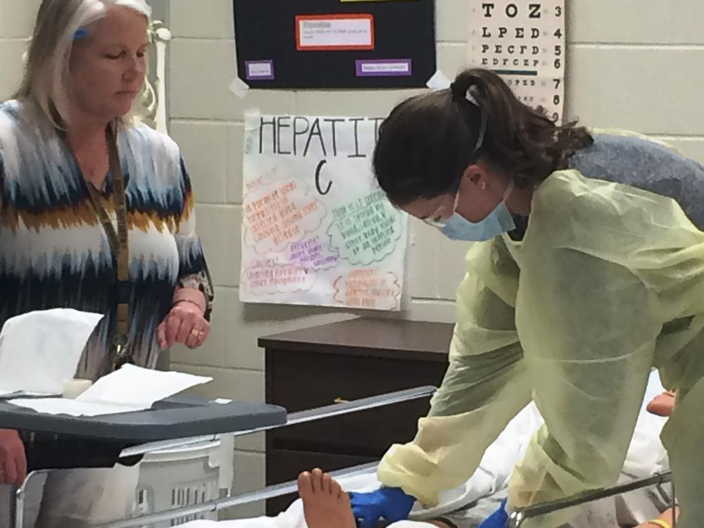 Career Pathways Health Services at S.E. Bulloch High