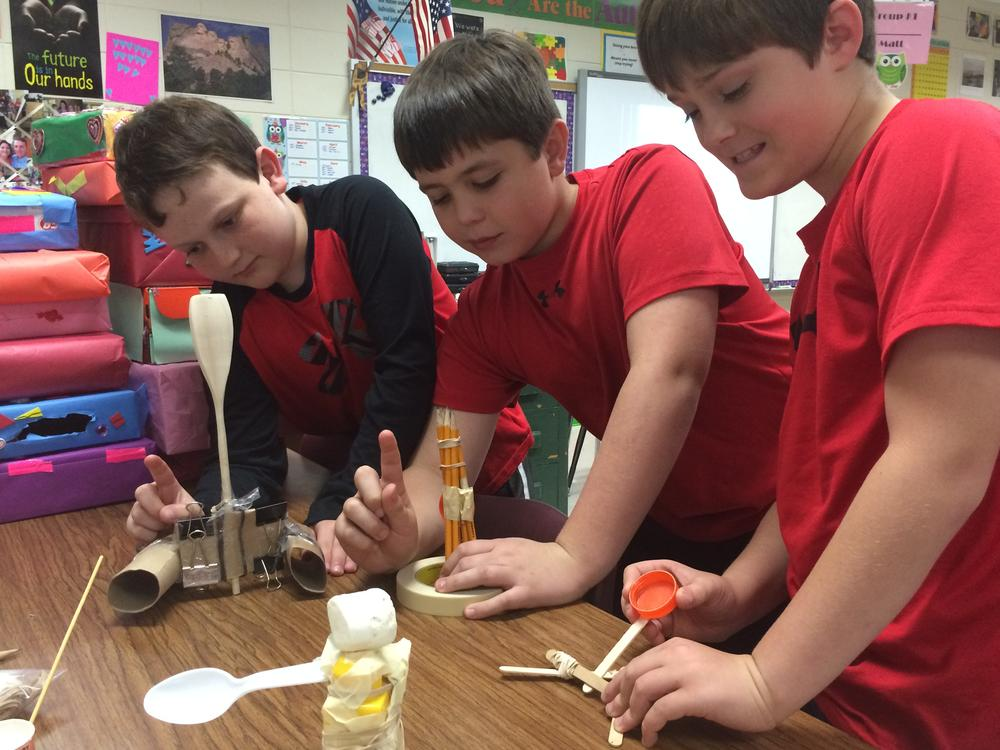 Family Math   Science Night at Sallie Zetterower Elementary