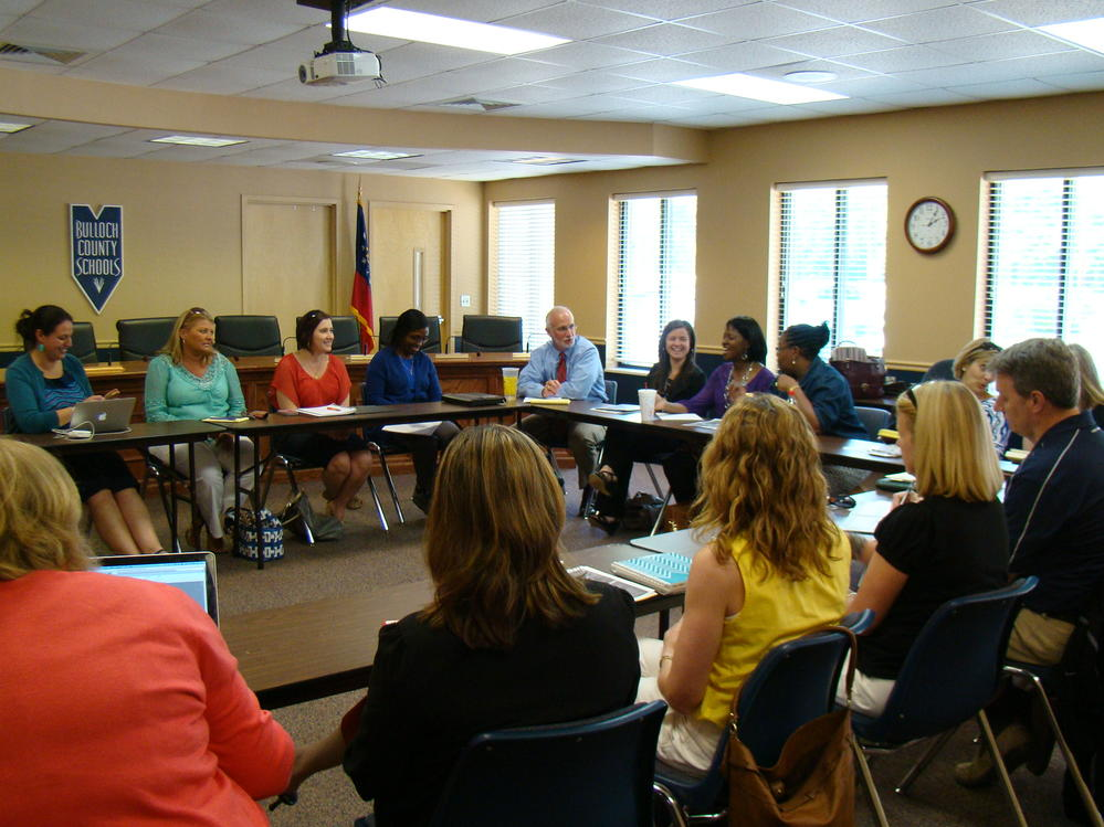 Meeting with Counselors