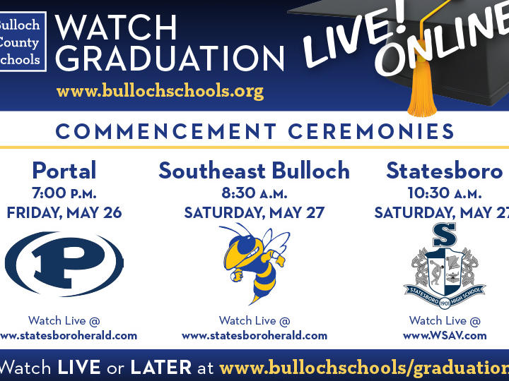 Bulloch County Schools Commencements Ad