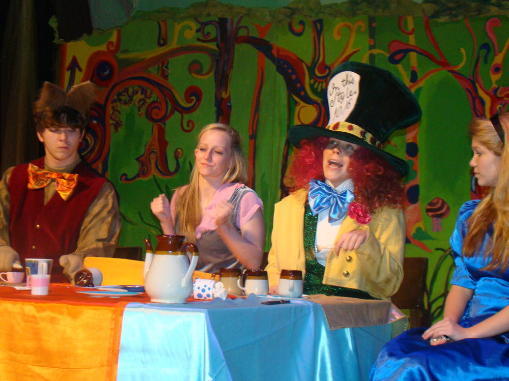 Statesboro High Production of Alice in Wonderland