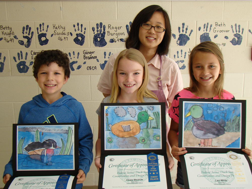 Stilson Elementary State Winning Art Students