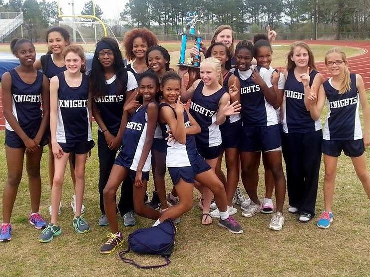 Middle School Athletics Girls Track