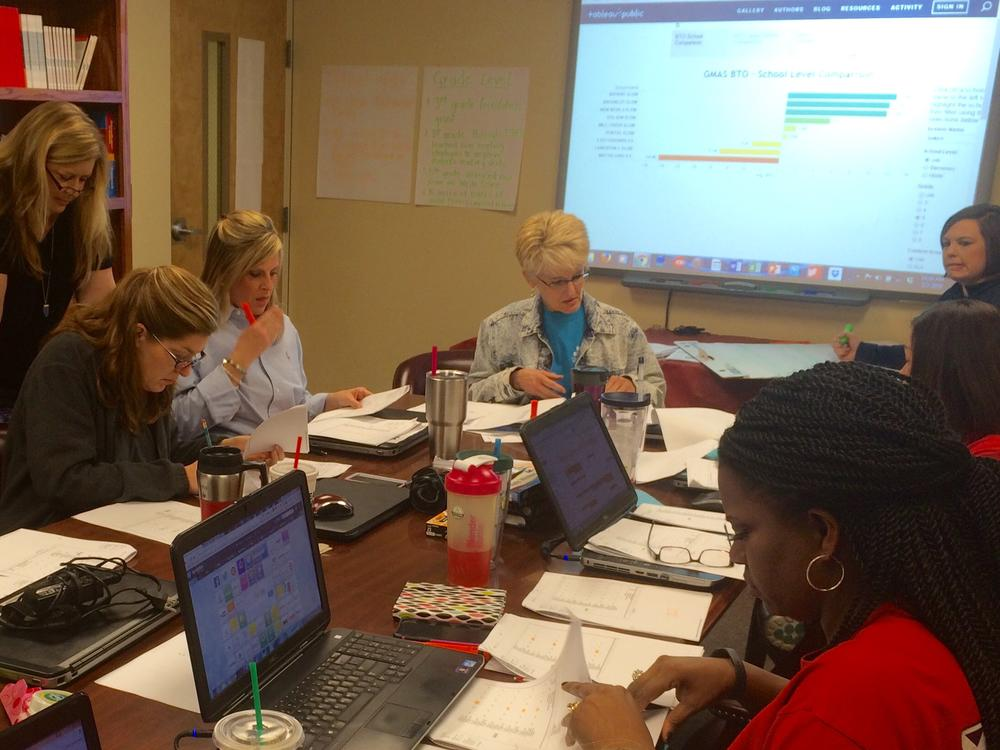 Teachers dig into student data to guide instruction