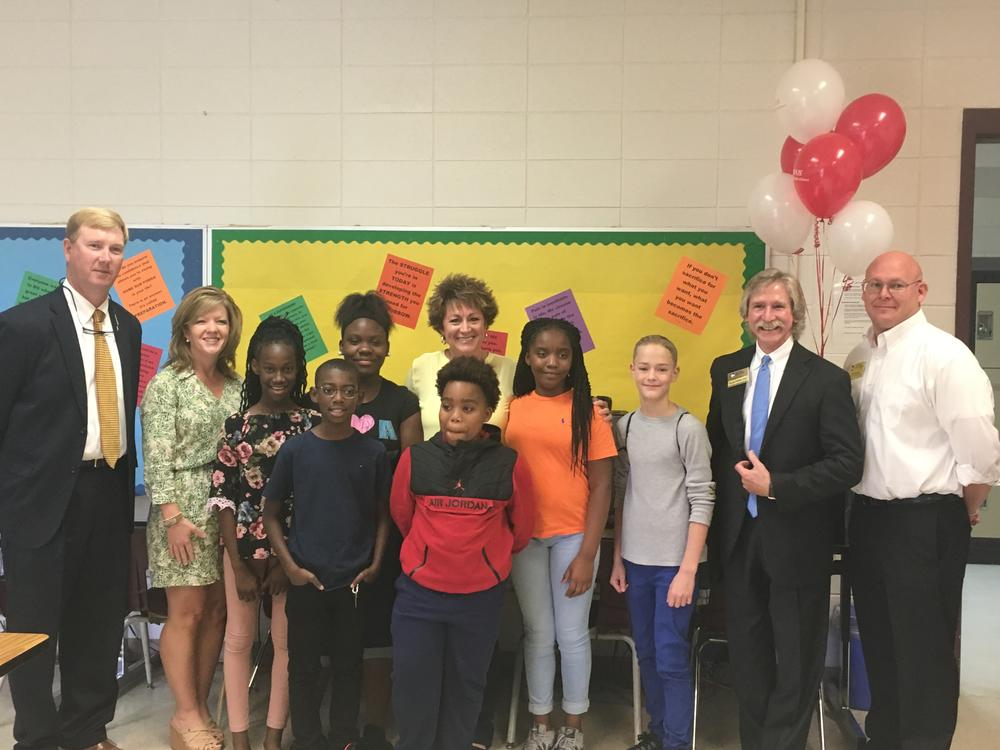 GA Southern University College of Education honors Tammy Davis at LCMS