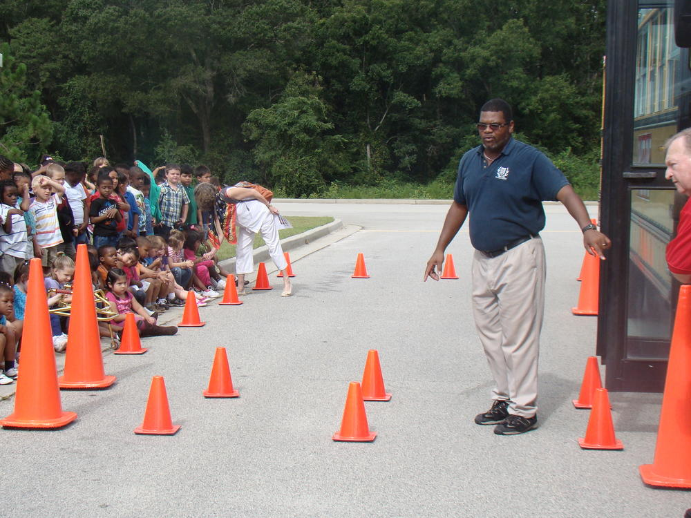 Bus Drivers Student Safety Program at Langston Chapel Elementary 2