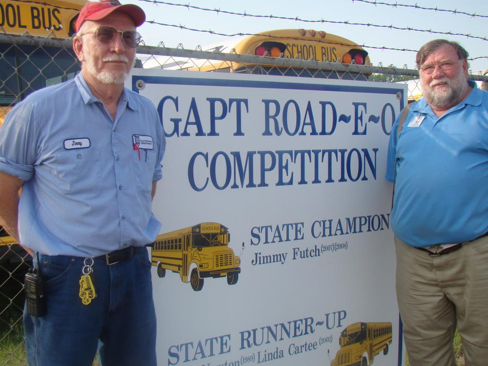 State Champion Drivers Gil Riggs and Jimmy Futch