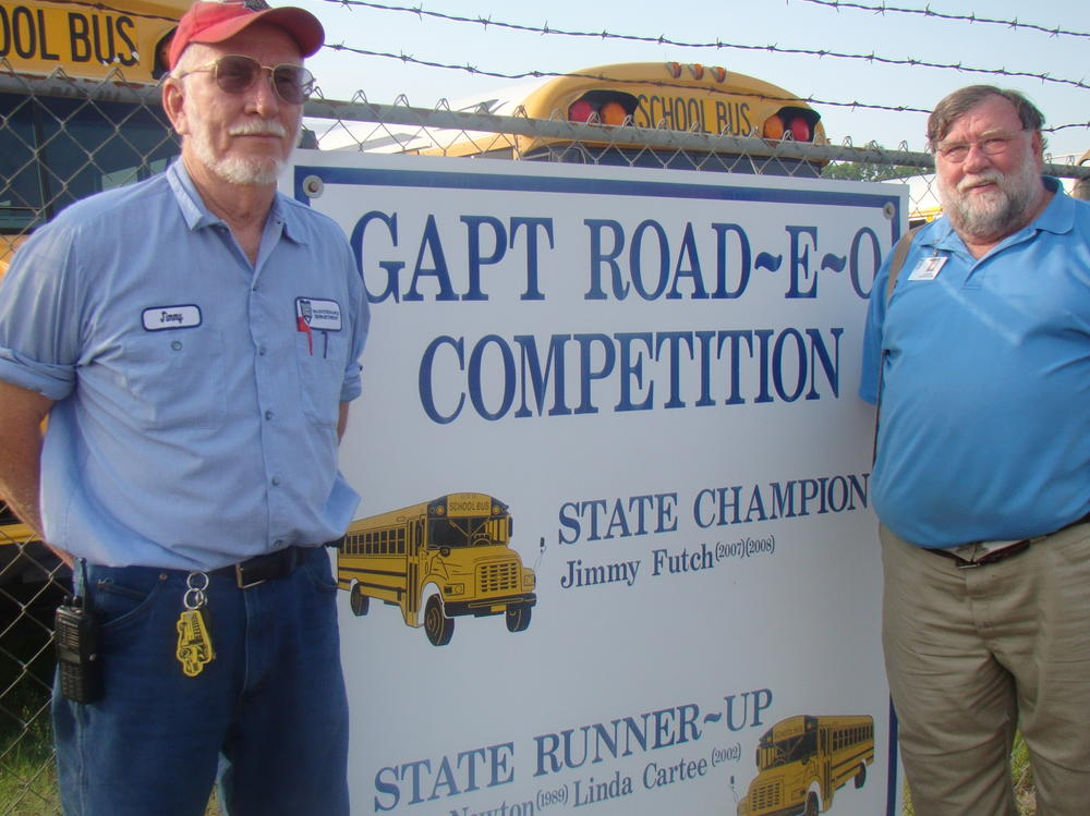Champion Bus Jimmy Futch and Gil Riggs