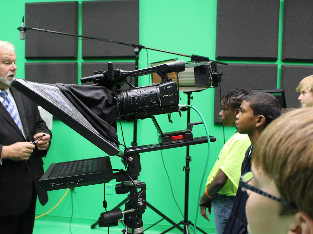 QUEST Technology Club Students Visit the GA Southern Media Development Center