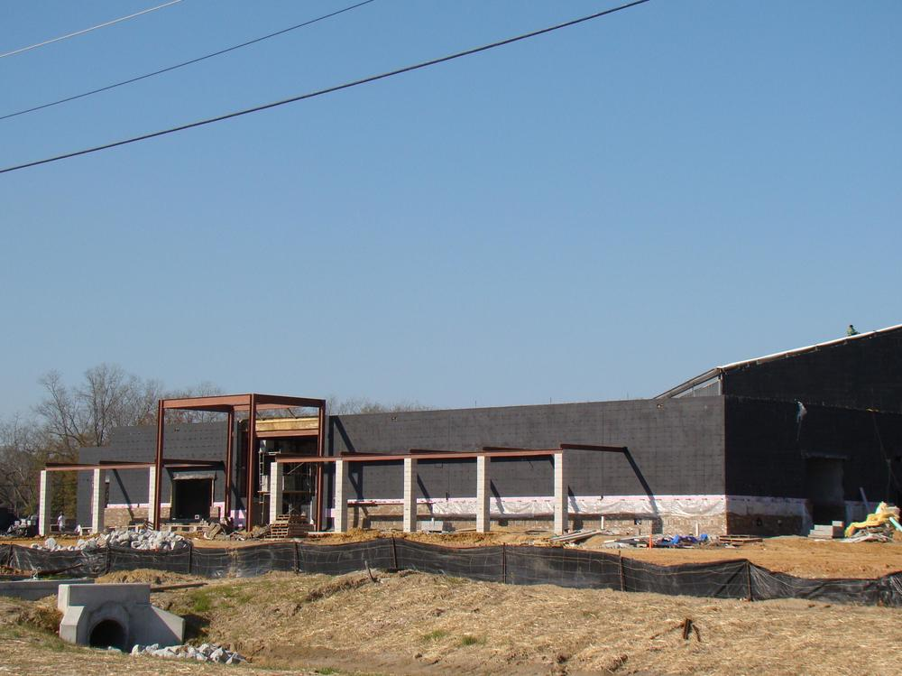 Construction of Julia P. Bryant Elementary