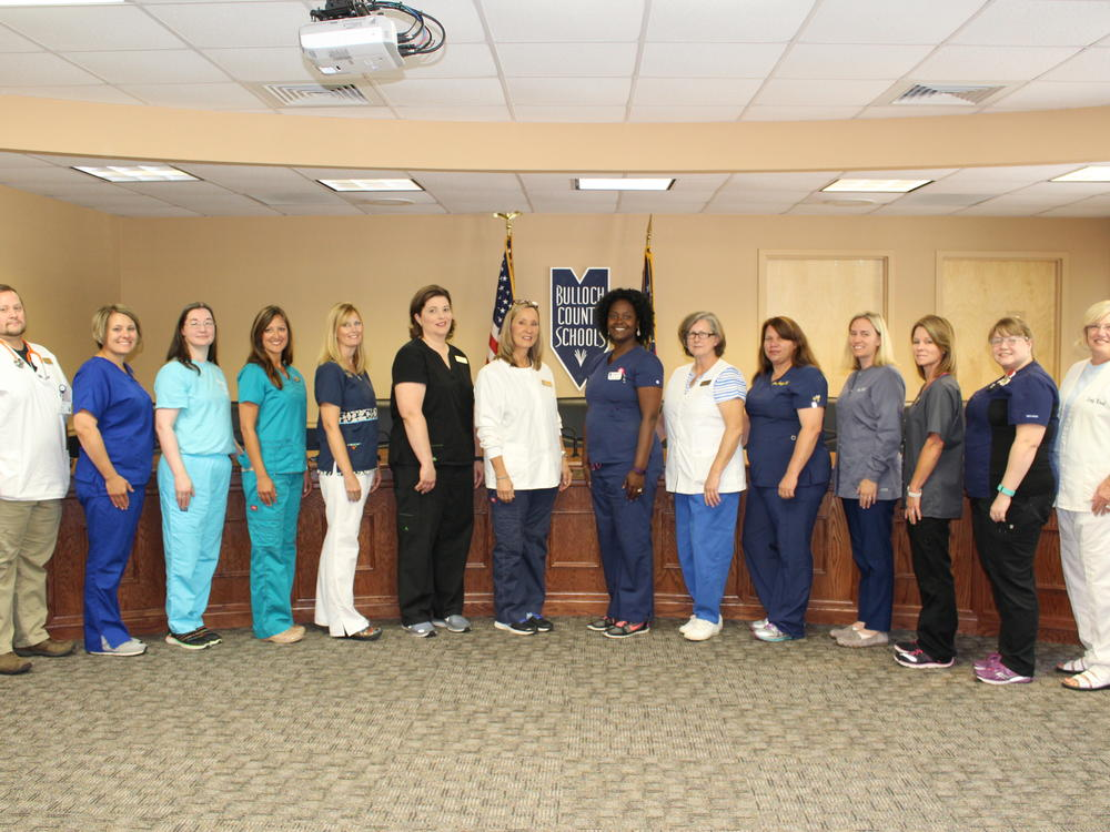School nurses care for students and faculty medical needs