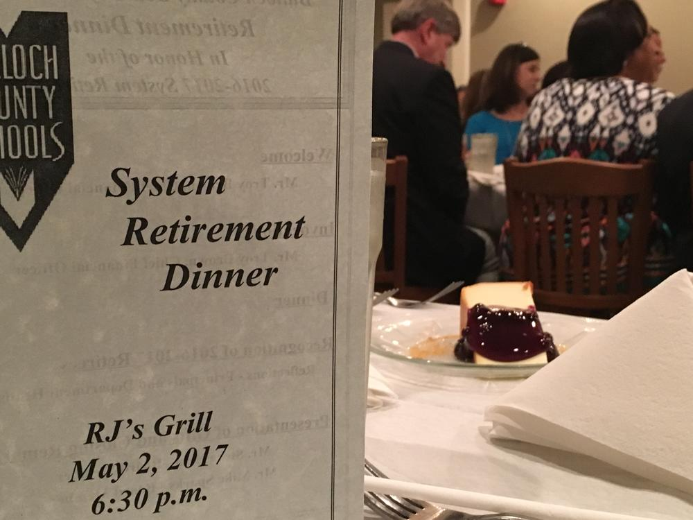 School district annually honors retirees