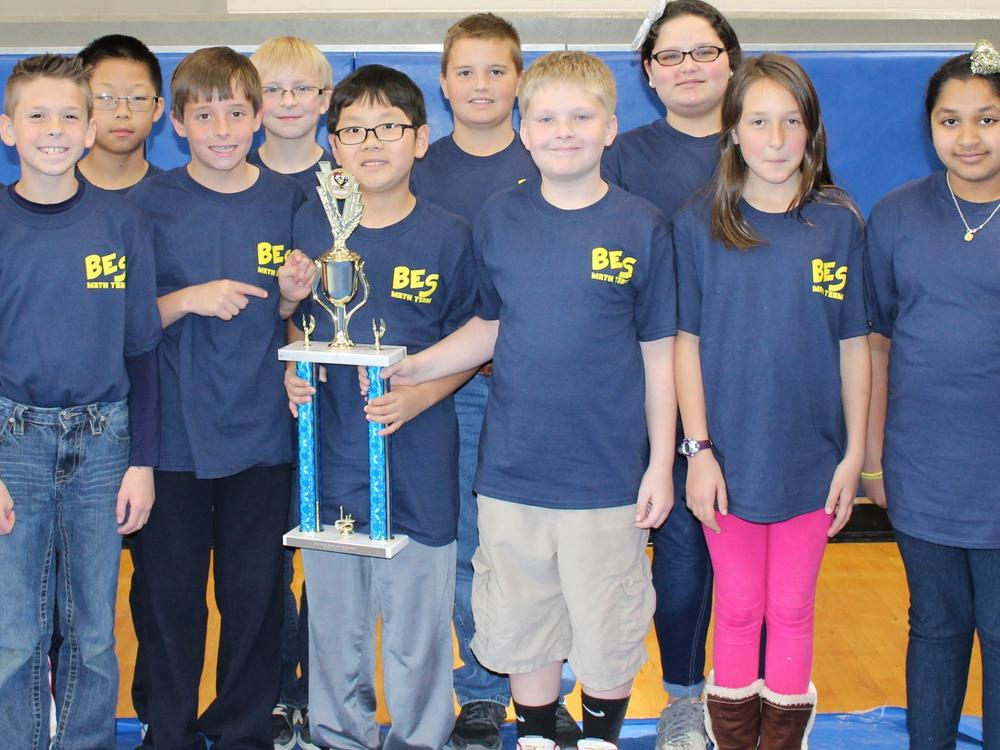 2016 Fifth-Grade Team Ciphering First Place Team - Brooklet Elementary