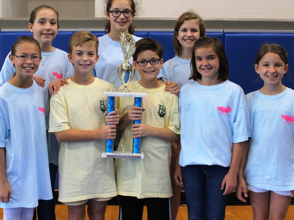 2016 Fifth-Grade Overall Team - Second Place - Bulloch Academy