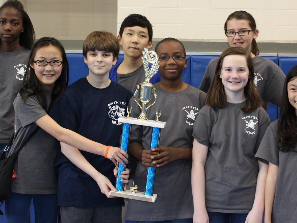 2016 Sixth-Grade Overall Team - First Place - William James Middle School