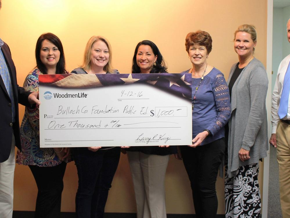 Foundation Board receives a donation
