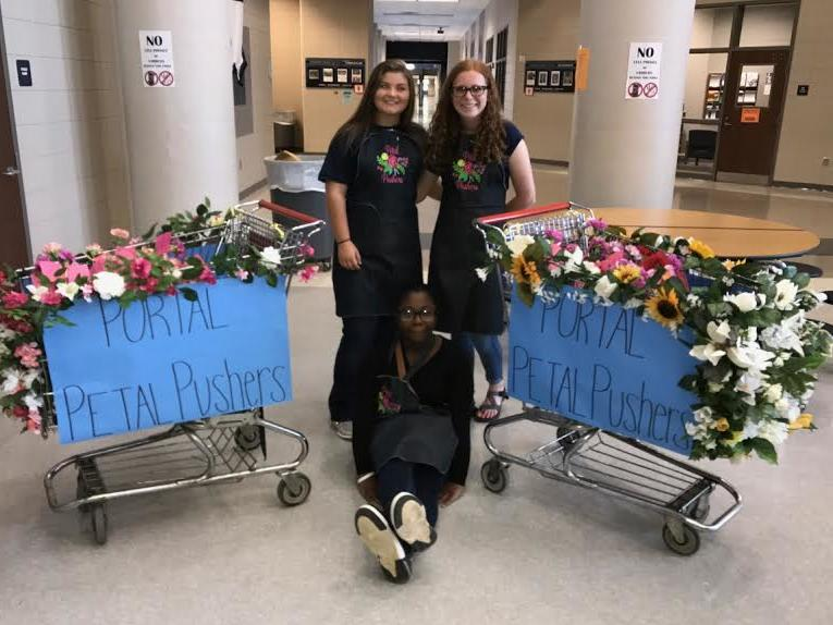 Portal Middle High Floral Design Students