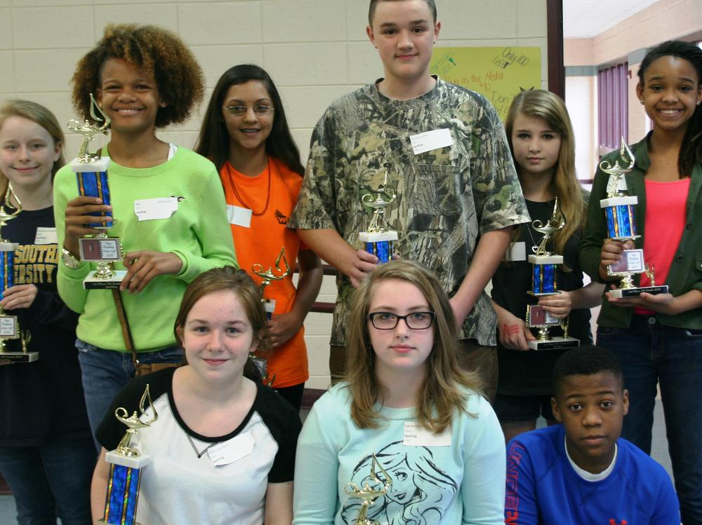 Academic Competitions  Nan Rushing Write-Off for English Language Arts Grades  6-8