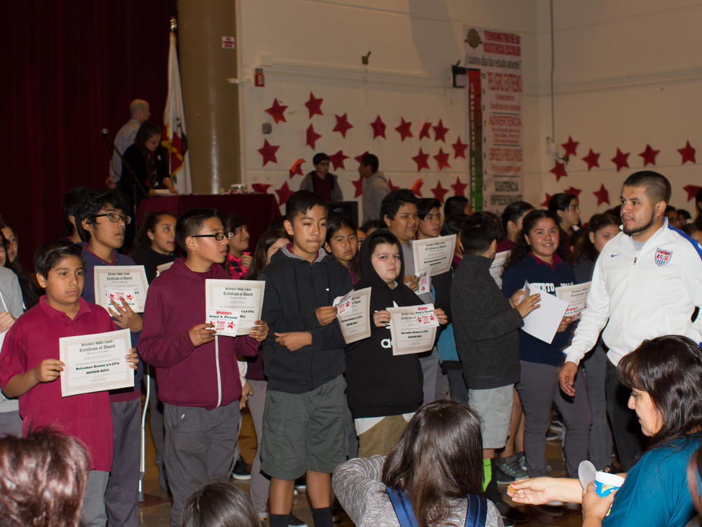 Honor Roll and Perfect Attendance 2-2-2018