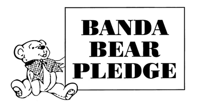 Banda Bear Pledge