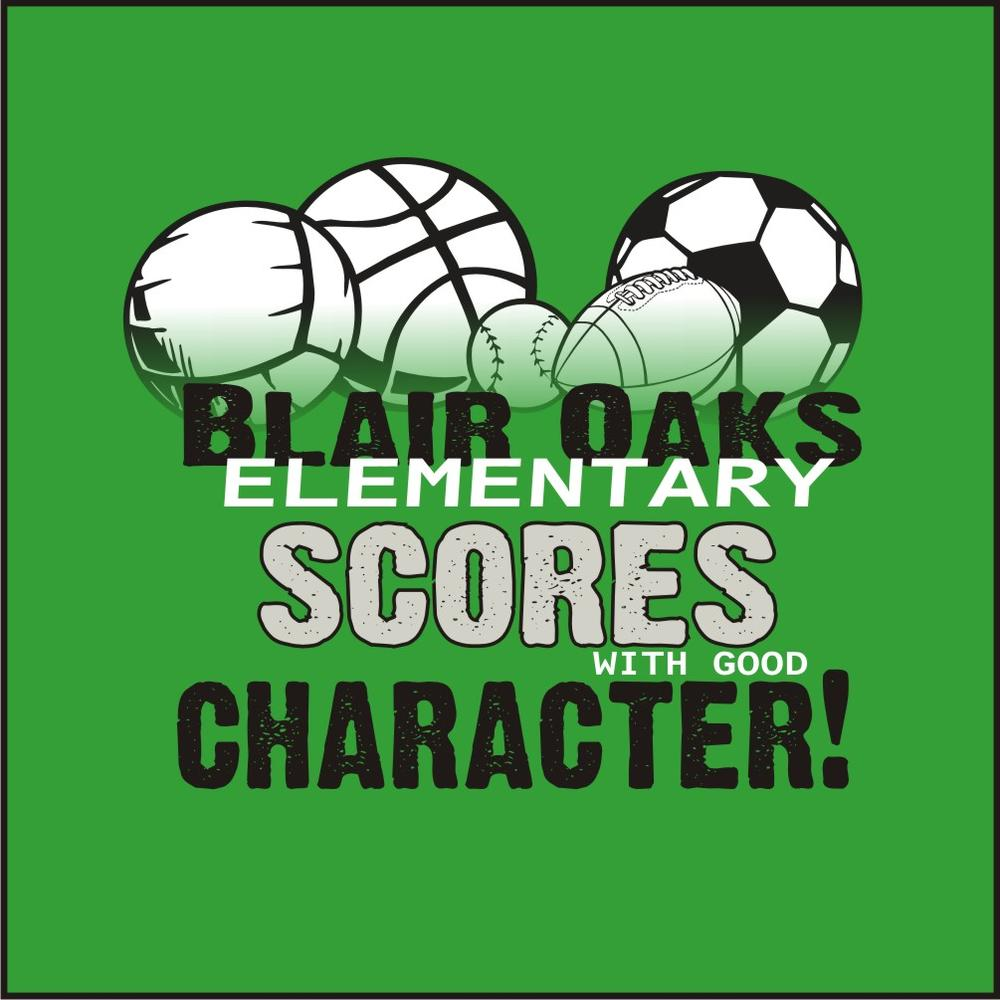 2013front Blair Oaks Score W Good Character