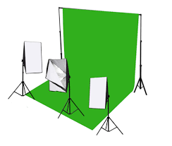 green screen equipment