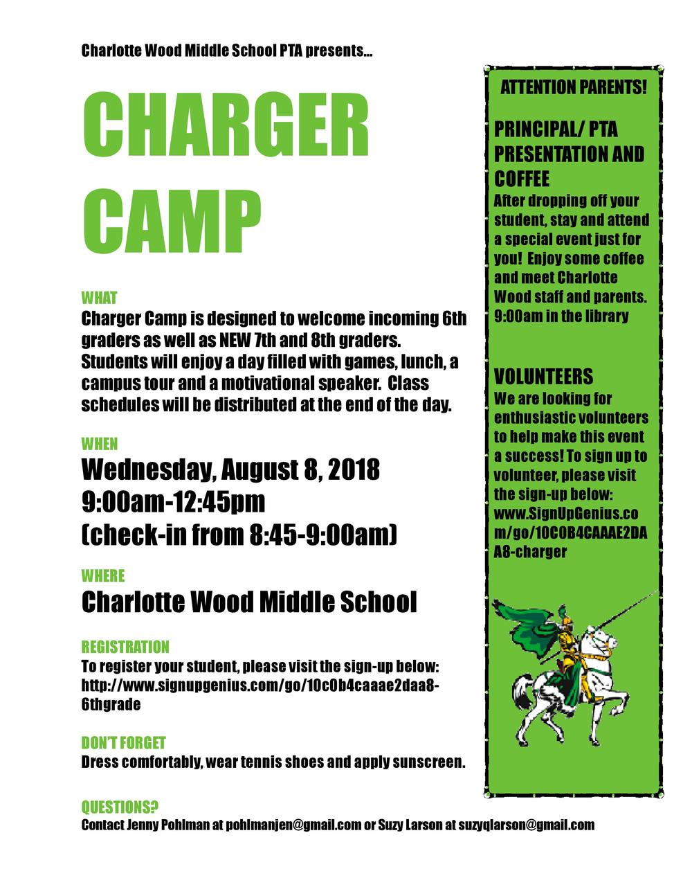 Charger Camp