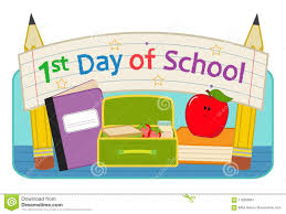 1st day of school image