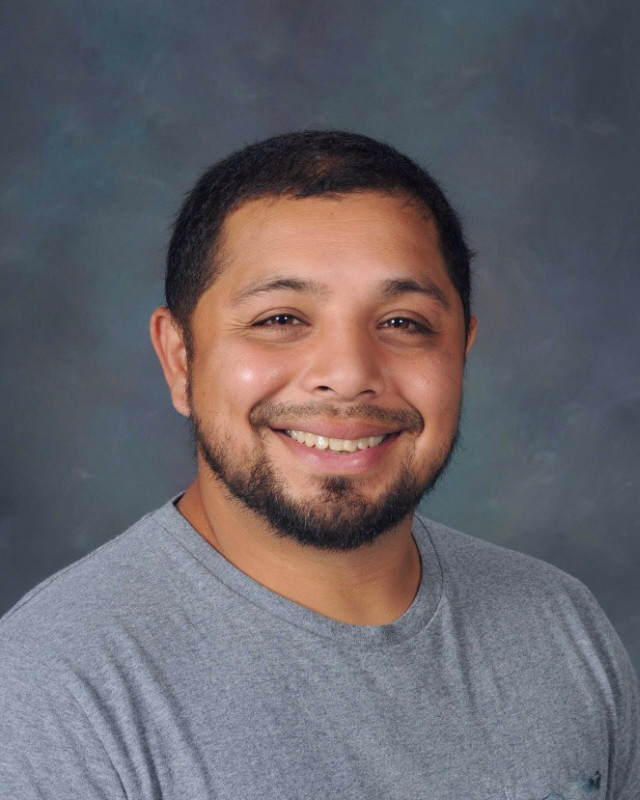 Picture of special education assistant Wilson Mendez