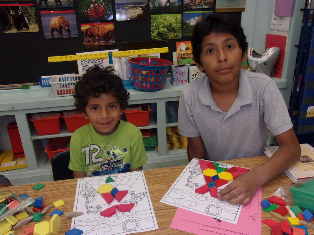 Getting Creative with Pattern Blocks