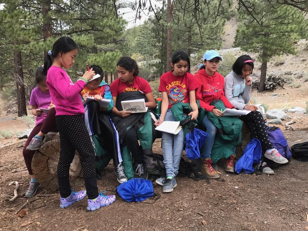 Wrightwood Science Camp, April 24-28, 2017