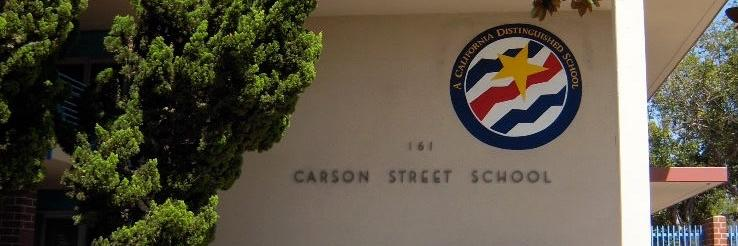 Front of School CA Distinguished Logo