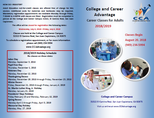Career Classes for Adults