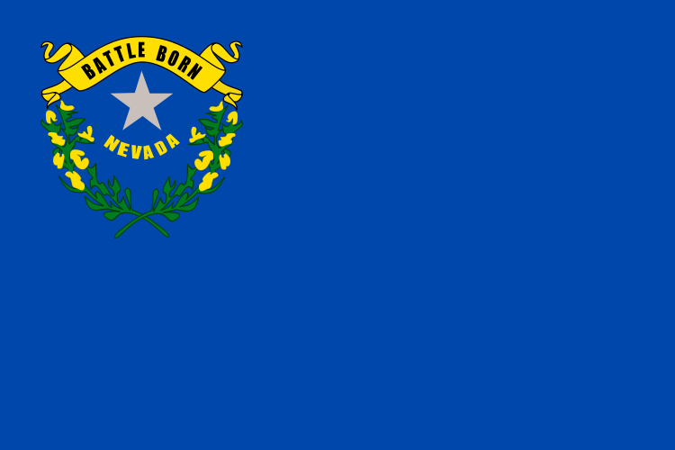 Nevada Facts - Nevada Flag Image