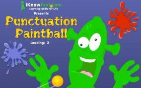 Punctuation Paintball