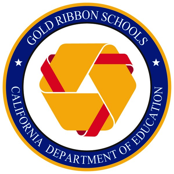 California Department of Education Gold Ribbon Schools logo
