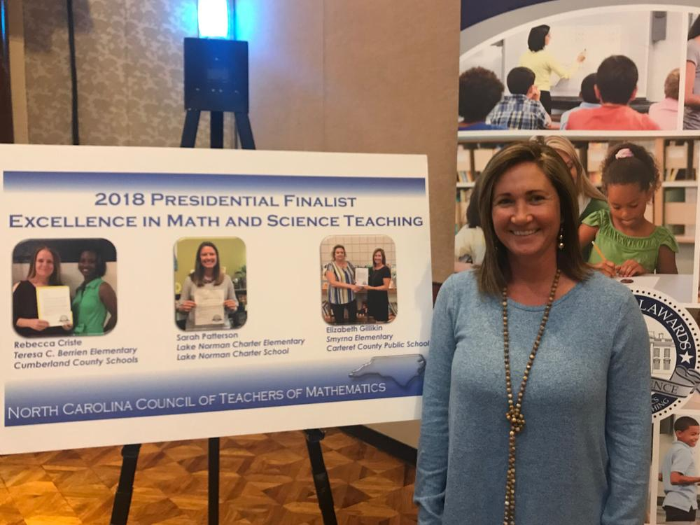 Mrs. Beth Gillikin - 2018 Presidential Finalist Excellence in Mathematics  Teaching